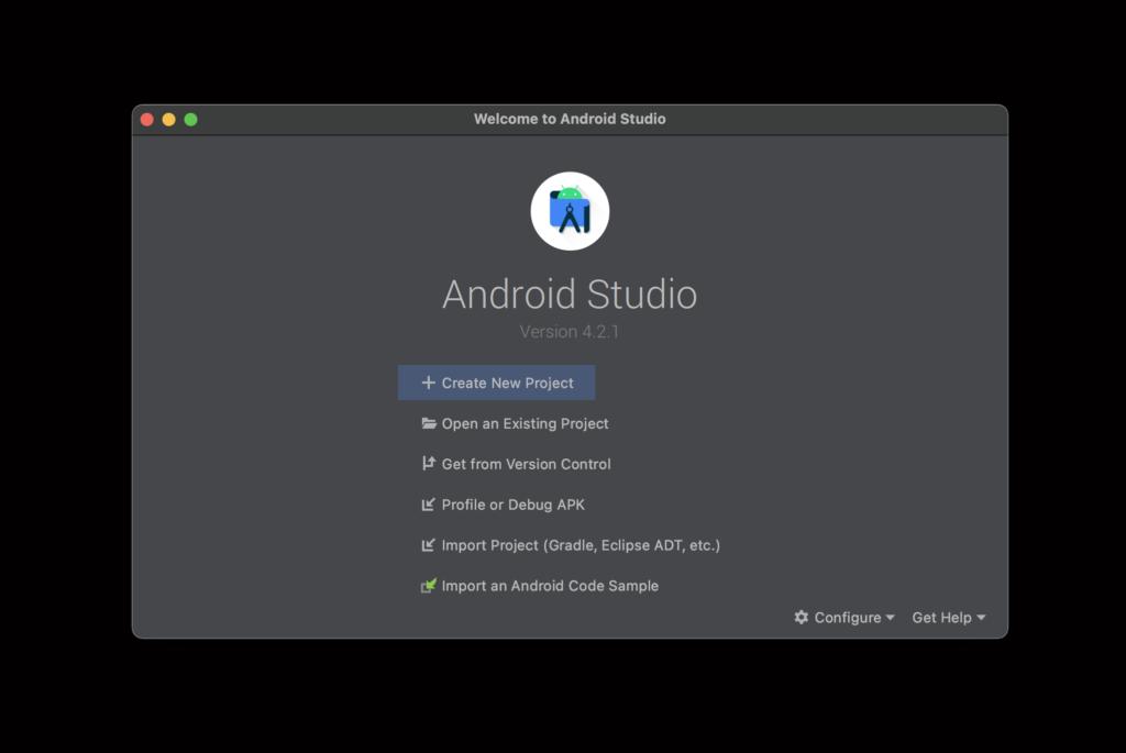 AndroidStudio_デフォルト画面